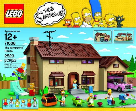 simpsons house official images and video of lego s the simpsons house set surface video