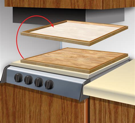 Bar Top Cover Stove Cover Adds Counter Space Motorhome Magazine