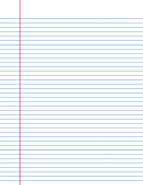 How To Make A Out Of Lined Paper - a4 lined paper templates print and 15