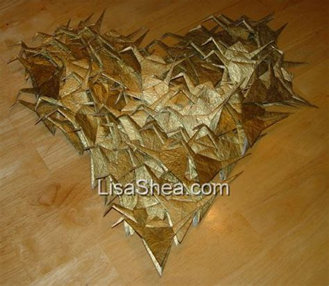 History Of Origami Cranes - wedding tradition of 1 000 origami cranes
