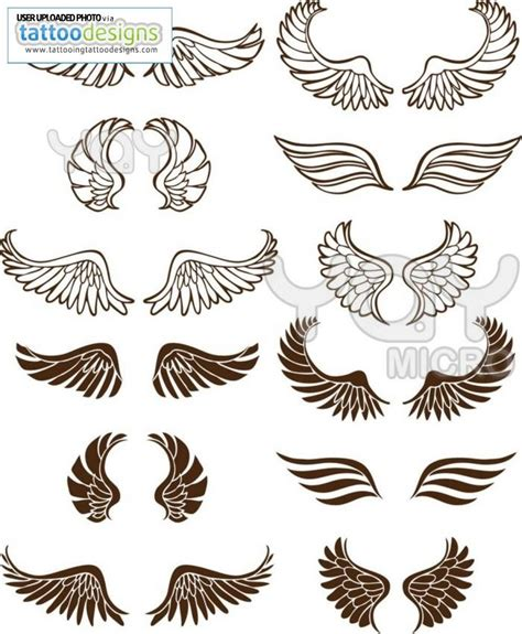 wing tattoos designs wings tattoos tattoos i want