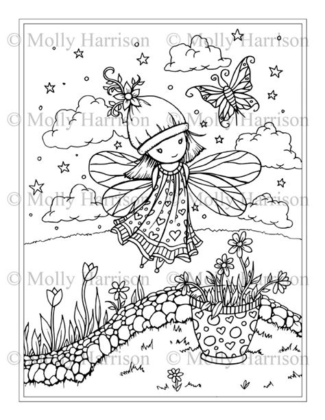 whimsical world 3 coloring book mythical sweetness fairies mermaids dragons and more books whimsical world coloring books and pages the