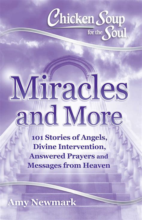 chicken soup for the soul miracles and more book by