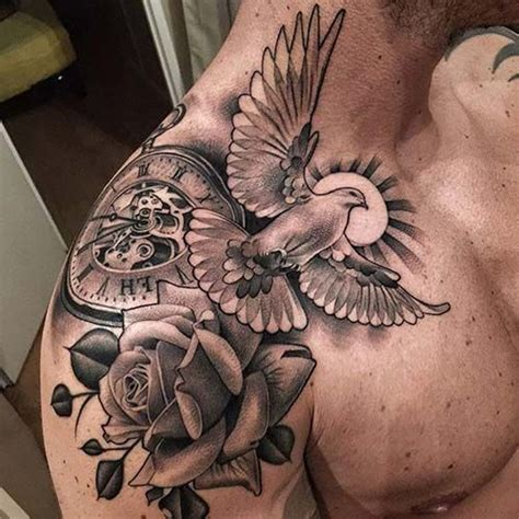 shoulder piece tattoos for men best 25 mens shoulder ideas on