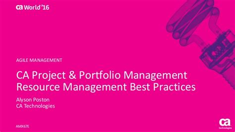 breakthrough project portfolio management achieving the next level of capability and optimization books ca project portfolio management resource management best