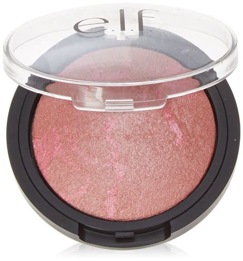 E L F Studio Baked Blush e l f baked blush peachy cheeky