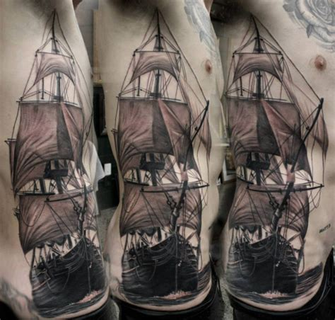 owl tattoo matt jordan 30 cool sailing ship tattoos best tattoo ideas gallery