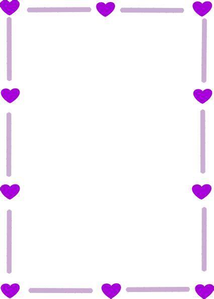 Bordir Purple purple borders and frames silver purple border clip borders frames