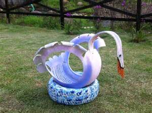 swan tire planter recycling tires tire planters