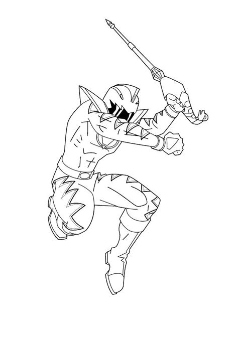 power rangers dino thunder printable coloring pages power rangers dino thunder jump while you remove the sword