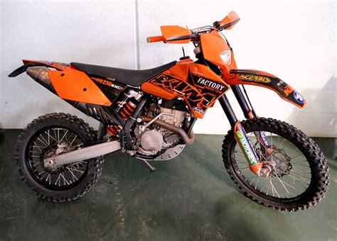 Ktm 250 Exc 2007 Motos Casco Ktm Exc 250 2007