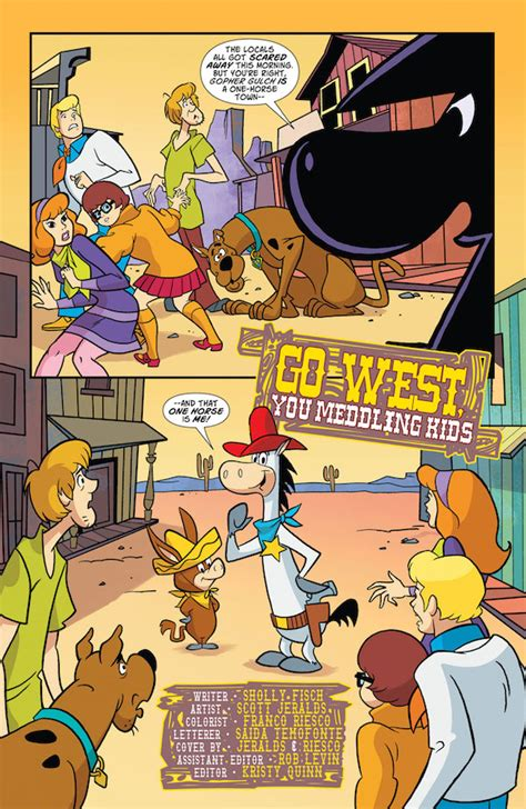 Dc Comics Scooby Doo Team Up 23 April 2017 exclusive preview scooby doo team up 23 comics for