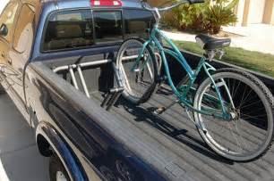 pipeline truck bed bicycle rack