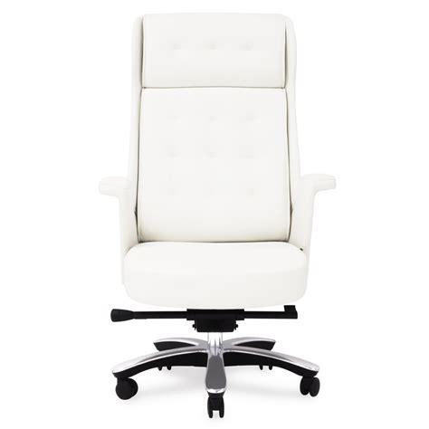 white executive desk chair white executive chair chairs seating