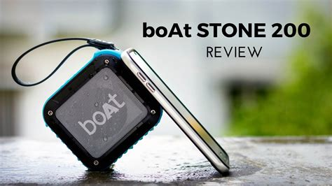 boat portable speakers review boat stone 200 bluetooth speaker review d 233 j 224 vu youtube