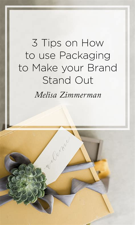 What Makes Your Brand Unique - 3 tips to using packaging for success rising tide
