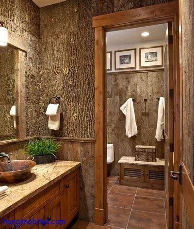 Bathrooms Design rustik mobilya modelleri9 hangi mobilya