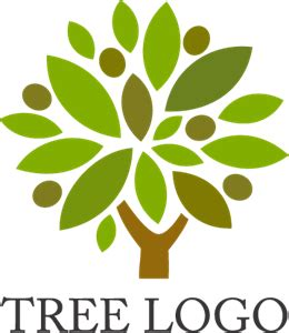 Tree Logo Vectors Free Download Green Tree Logo Vector Vector Logo Free