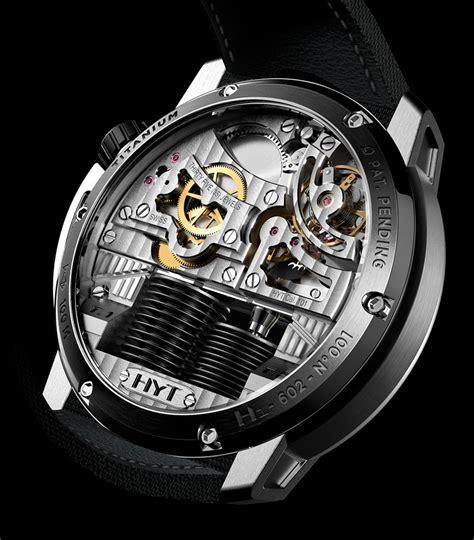Uhr Mit Sichtbarem Uhrwerk by Hyt Hydromechanik Watchtime Net