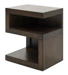 Nightstand For Loft Bed Modern Loft S Shaped Nightstand Weir S Furniture