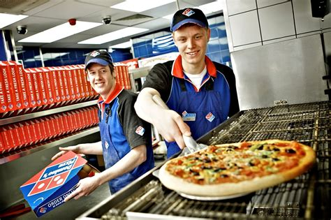 domino pizza delivery domino s sees sales grow over 5 hospitality catering news