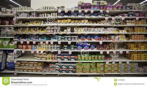 Stock Shelf by Store Pet Food Shelving Shelf Unit Editorial Stock Photo Image 50798508