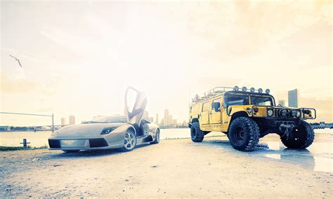 lamborghini hummer hummer h1 and lambo by dejz0r on deviantart