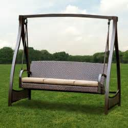 woven swing replacement cushion set 2012 garden winds