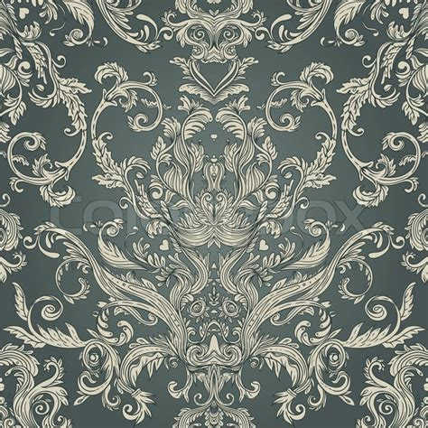 seamless pattern wiki seamless vintage baroque pattern stock vector colourbox