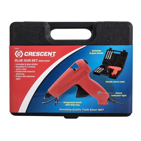 Promo Glue Gun crescent cgg60 glue gun kit with 6 glue sticks a 230v 60w cgg60 top sellers glue
