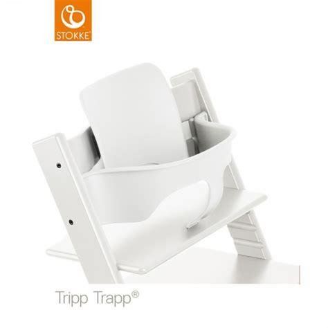 siege tripp trapp fauteuil b 233 b 233 tripp trapp baby set blanc de stokke en