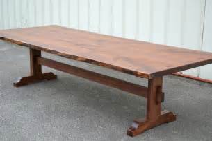 10ft Dining Table 10 Foot Live Edge Walnut Dining Table
