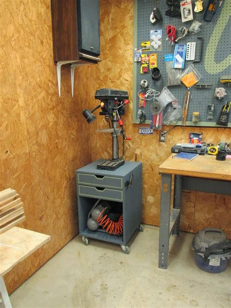 Wilker Do S Diy Rolling Drill Press Stand