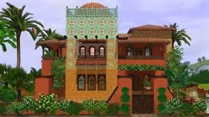 moroccan houses mod the sims mts khadija moroccan house by deluxe designs sims 3 downloads cc caboodle