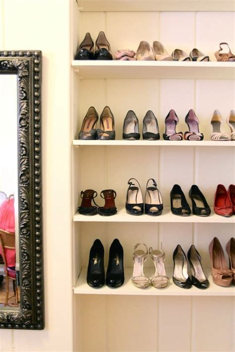 Shoe Shelf Closet by Closet Shoe Shelf Drawer Design Ideas