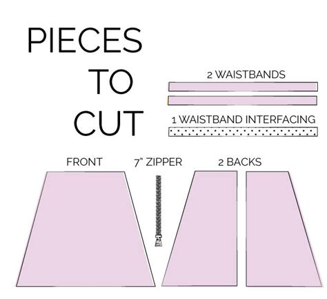 pattern for a simple skirt zippers a free simple skirt pattern zipper tutorial