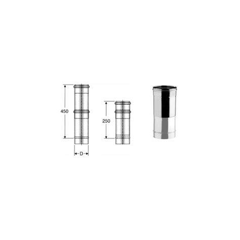 canne fumarie in acciaio per camini tubo telescopico per canna fumaria inox monoparete
