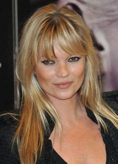 Kate Moss Gets A Fringe Will You Be Next Tips On Choosing The Style Fringe by Gemma Arterton Flecos And Flequillo On
