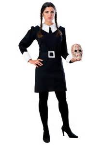 adults halloween costumes wednesday addams costume addams family halloween