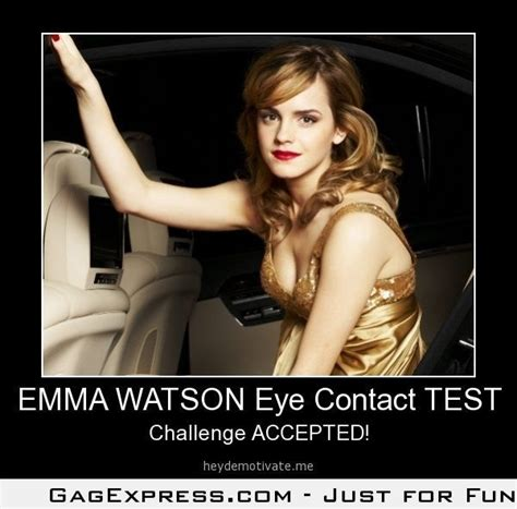 emma watson address emma watson eye contact test funny image pinterest