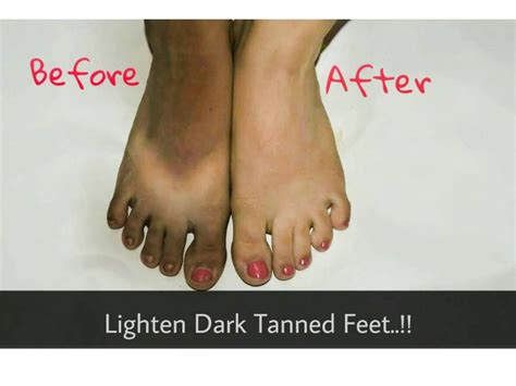 how to get the best tan in a tanning bed remove sun tan from your feet lighten dark tanned feet