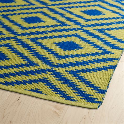Navy And Yellow Rug brisa diamonds rug in yellow and navy rosenberryrooms