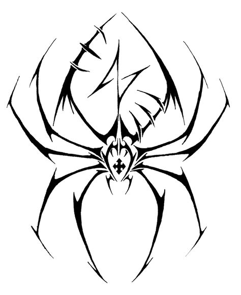 tribal tattoo spider spider tattoos designs ideas and meaning tattoos for you