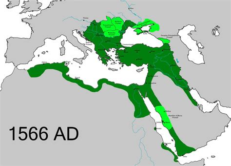 the ottoman empire was headquartered in the city of ottoman empire upon the death of suleiman the maps on