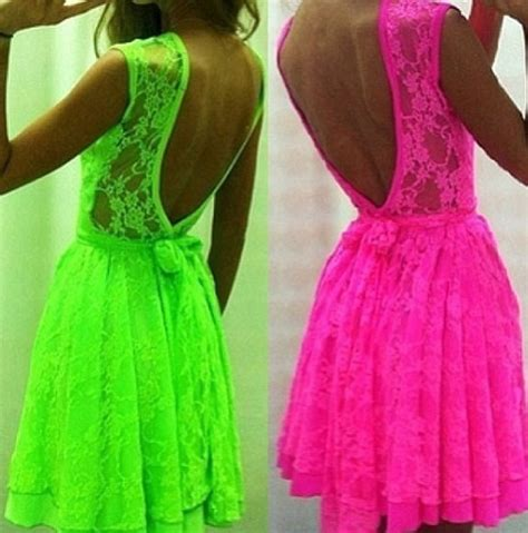 neon dresses neon needs suits and
