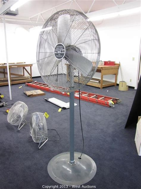 Pedestal Fan Not Working west auctions auction complete sellout of sacramento printing company item patton 1010mp