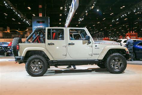 jeep rubicon recon 2017 jeep wrangler rubicon recon looks trail ready in