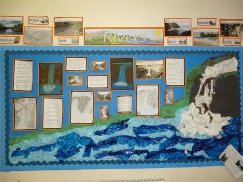 geography themes ks2 year 6 produced this display following their study of