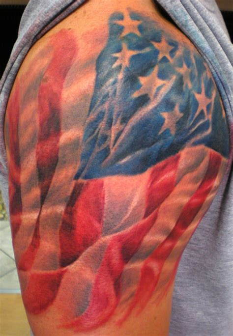 cool american flag tattoos american flag tattoos for ideas and designs for guys