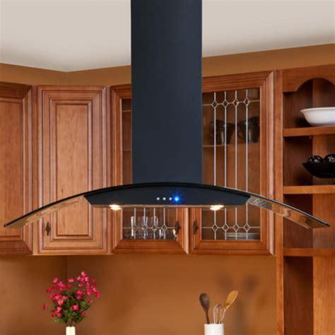 kitchen island range hoods casa series 48 quot black island range hood 600 cfm kitchen